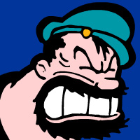 Blouto of Popeye fame